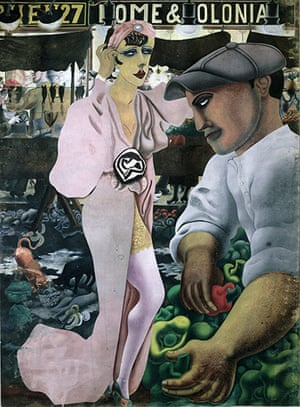 Edward Burra: Saturday Market (1932)