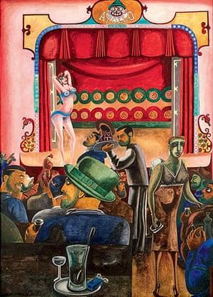 Edward Burra: Striptease (Harlem) (1934)