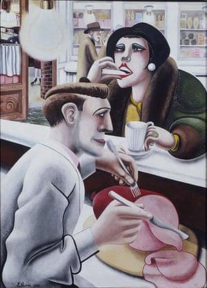 Edward Burra: Snack Bar (1930)