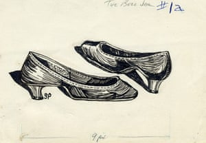 Sylvia Plath sketches: The Bell Jar