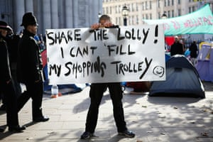 Occupy protests: Tom Leach, London