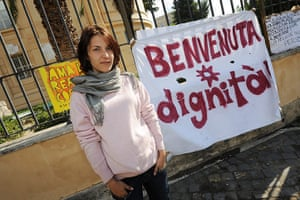 Occupy protests: Alessandra, Rome