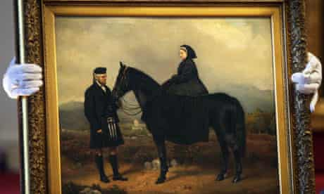 Queen Victoria with John Brown