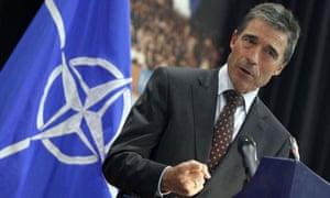 Anders Fogh Rasmussen, the Nato secretary general