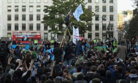 Finsbury Square protest camp