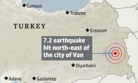 Turkey earthquake graphic