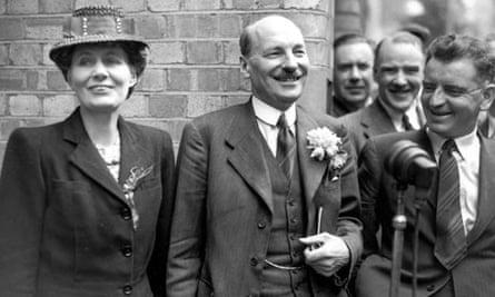 Attlee Smiles