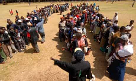 Kenyans displaced following 2007 election