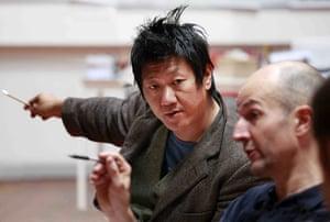 Hamlet at the Young Vic: Benedict Wong and Ian Rickson