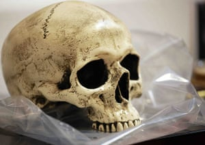Hamlet at the Young Vic: The skull of Yorick