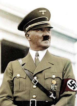 Moustaches: Adolf Hitler