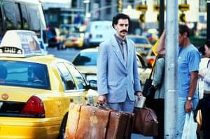 Moustaches: Sacha Baron Cohen in Borat
