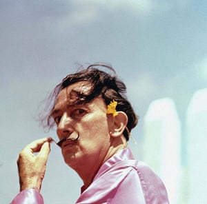 Moustaches: Salvador Dali in Cadaques