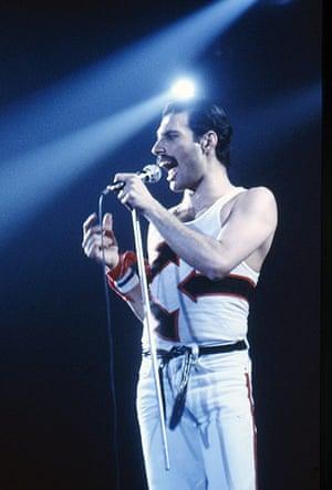 Moustaches: Freddie Mercury