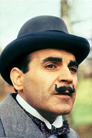 Moustaches: David Suchet as Hercule Poirot