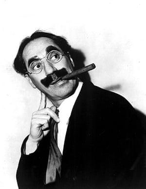 Moustaches: Groucho Marx