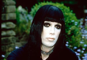 Goths: Pete Burns of the band 'Dead Or Alive'