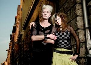 Goths: A goth couple