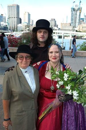 Goths: A Goth family wedding