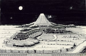 The Art of the Hobbit : The Lonely Mountain from The Art of the Hobbit, published by HarperCollins