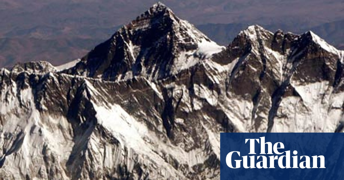 The mission to clean up Mount Everest | Environment | The Guardian