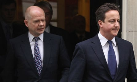 Hague and Cameron