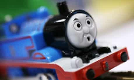Diplomático Armonioso Desviar  Thomas the Tank Engine teams up with Barbie as Mattel buys Hit   Retail  industry   The Guardian