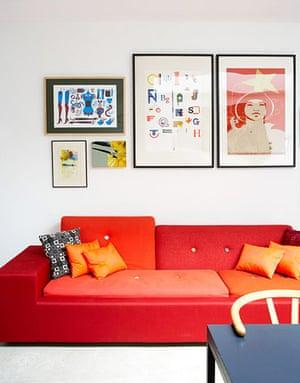 Modernist makeover: Modernist makeover: sofa