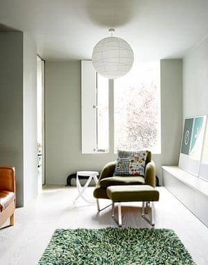 Modernist makeover: Modernist makeover: upstairs living room