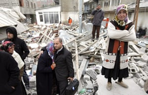 24 hours in pictures: Earthquake in Turkey