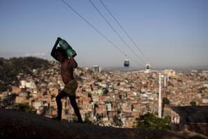24 hours in pictures: Complexo do Alemao favela in Rio de Janeiro