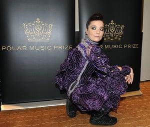 Bjork Fashion gallery: Polar Music Prize press conference, Sweden - 30 Aug 2010