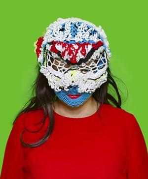Bjork fashion gallery: Bjork mask