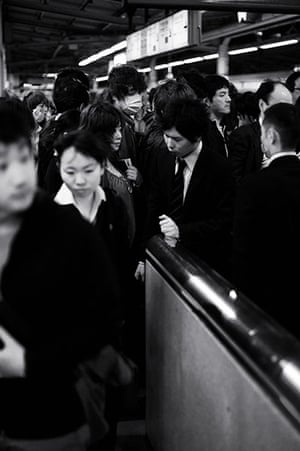 Tokyo by Paul Church: escalator