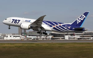 Dreamliner first flight: Boeing 787 takes off for the airplane's innaugural commercial flight