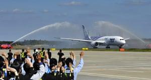 Dreamliner first flight: First commercial flight of a Boeing 787 Dreamliner