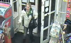 CCTV image of Joanna Yeates at an off-licence