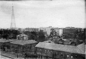 Soviet Art & Architecture: Havosko-Shabolovskii block and Shabolovka Radio Tower at the Royal Academy