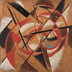 Soviet Art & Architecture: Spatial Force Construction by Liubov Popova at the Royal Academy