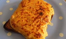The Cheese Society's recipe welsh rarebit