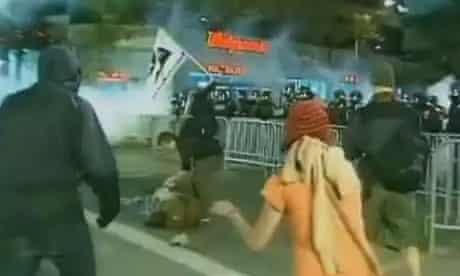 Occupy Oakland protester Scott Olsen