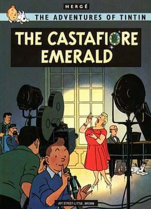 10 best: graphic novels: The Castafiore Emerald
