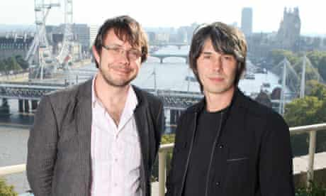 Manchester University physicists Brian Cox and Jeff Forshaw