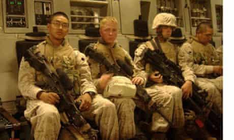 Scott Olsen in uniform