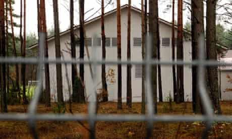 Riding school and alleged CIA prison in Lithuania