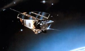 Artist's impression of Rosat before its re-entry