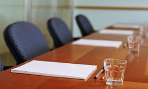 Seats in the boardroom