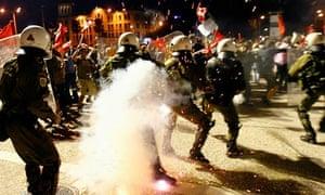 Riots in Thessaloniki in September