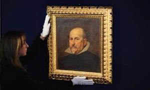 unknown Velazquez Painting