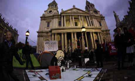 Occupy London anger after resignation of St Paul's Cathedral canon